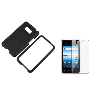 INSTEN Leather Tablet Case Cover/ LCD Protector for Samsung Galaxy Tab 3 7.0 P3200