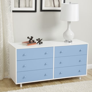 Beckham Light Blue Dresser