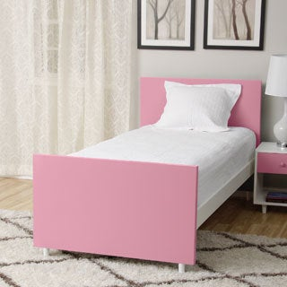 Beckham Pink Twin-size Bed