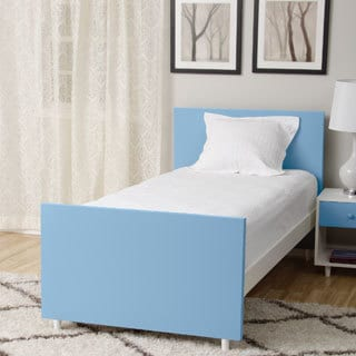 Beckham Light Blue Twin-size Bed