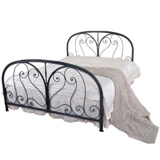Gold Sparrow Milan Forged Metal Bed