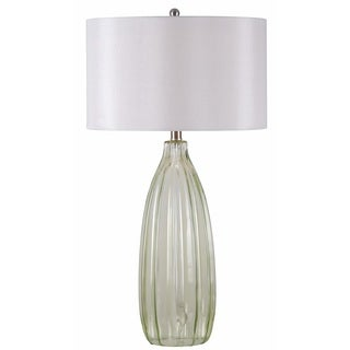 Largo 1-light Green/ Clear Table Lamp