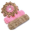 Pink Leopard Headband Set (Set of 3)