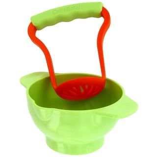 Onbi Baby Crush/ Eat Bowl in Green