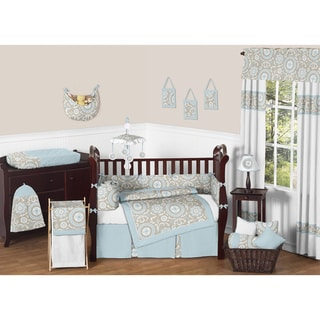 Sweet JoJo Designs Medallion 9-piece Crib Bedding Set