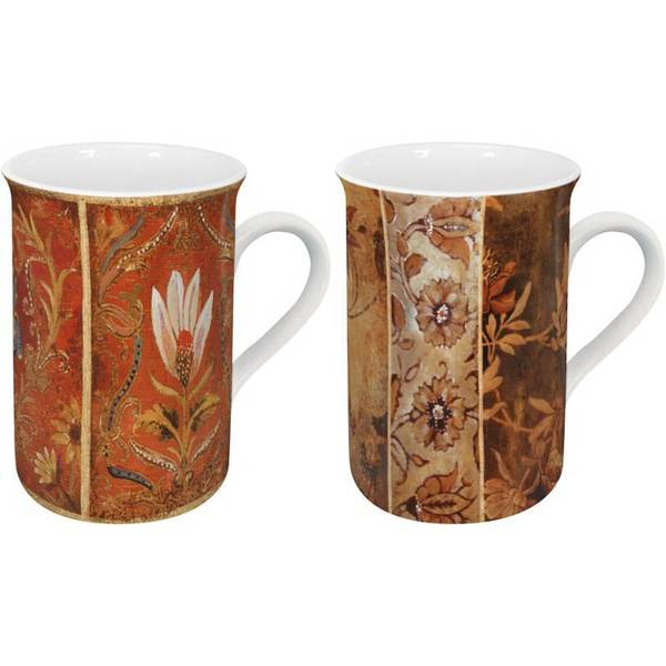 Konitz Tapestry Mugs (Set of 2)