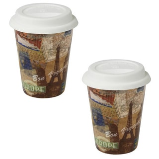 Konitz Bon Voyage Travel Mugs (Set of 2)