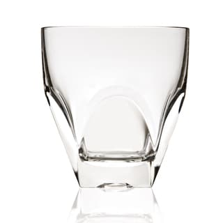 Diamonte Old Fashion Lead-free Crystal Tumbler Glass Set of 6
