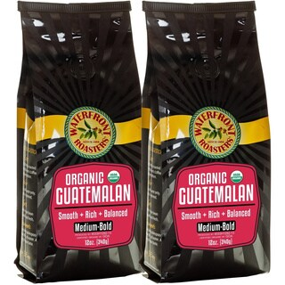 Waterfront Roasters Organic Guatemalan Ground Coffee (Set of Two 12-oz Bags)