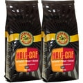 Waterfront Roasters Half-Caf Blend Ground Coffee (Set of Two 11-oz Bags)