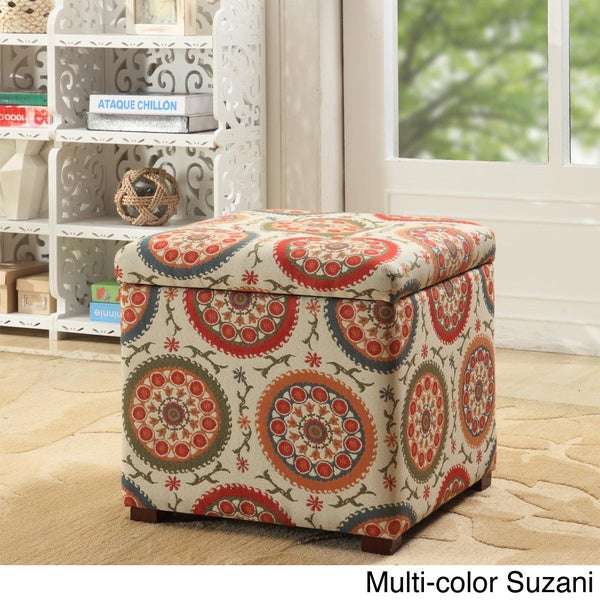 HomePop Fashion Storage Ottoman