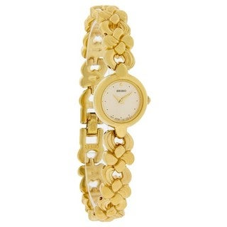 Seiko Women's Goldtone Stainless Steel Watch