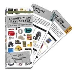 Emergency Bag Essentials (Swatchbook): Everything You Need to Bug Out (Cards)