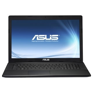 "Asus X75A-DH32 17.3"" Notebook - Intel Core i3 i3-3110M 2.40 GHz - Bla"
