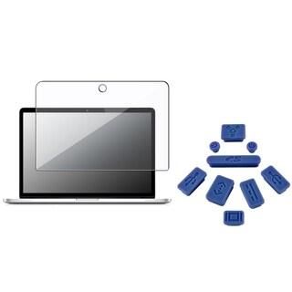 INSTEN Plug Cap Set/ Screen Protector for Apple MacBook Pro 13-inch