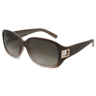 Italian Fendi Women's FS5205 Rectangular Sunglasses