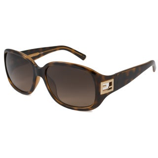 Fendi Women's FS5205 Rectangular Sunglasses with Plastic Frame
