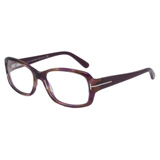 Tom Ford Readers Women's TF5188 Purple/Brown Rectangular Reading Glasses