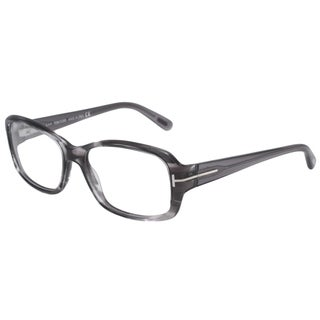 Tom Ford Readers Women's TF5188 Gray Rectangular Reading Glasses