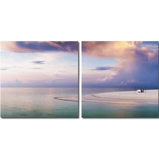 Baxton Studio Pastel Romance Mounted Photography Print Diptych