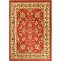 Paterson Oriental Dark Red Area Rug (5' x 7')