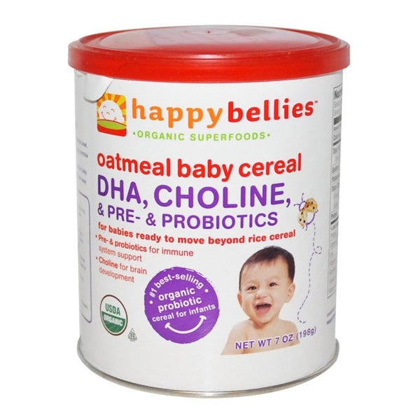 Happy Bellies Oatmeal Cereal (Pack of 3)