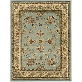 Oriental Design Sage Area Rug (7'10 x 9'10)