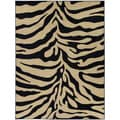 "Zebra Animal Print Area Rug (7'10""x9'10"")"