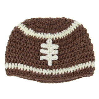 Baby Beanie Knit Football Hat