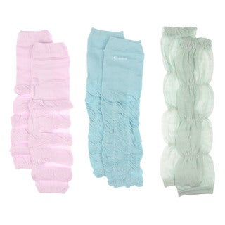 Girl's Solid Color Baby Leg Warmers (One Size)