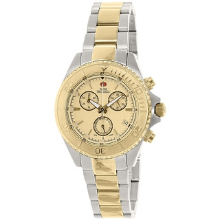 Swiss Precimax Women's Manhattan Elite Two-tone Stainless Steel Chronograph Watch