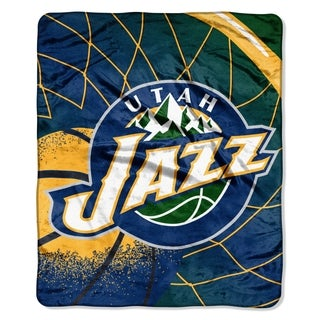 NBA Raschel 0701 Jazz Reflect Throw