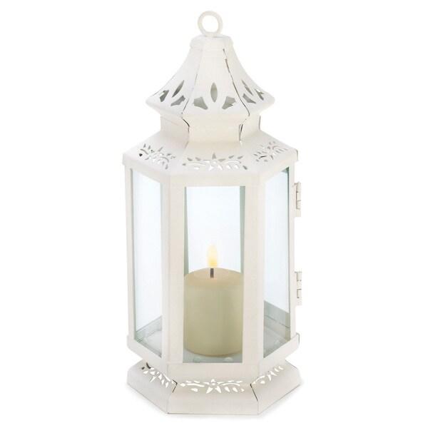 White Small Victorian Lantern