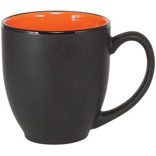 Bistro Orange Ceramic Mugs (Pack of 4)