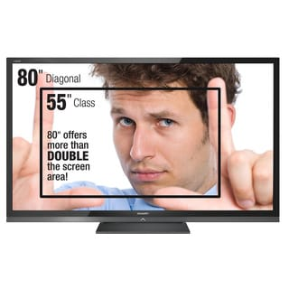 "Sharp AQUOS LC-80LE632U 80"" 1080p LED TV (Refurbished)"
