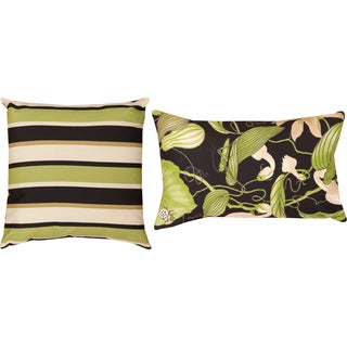 Lindy/ Arabel Lacquer Throw Pillows (Set of 2)