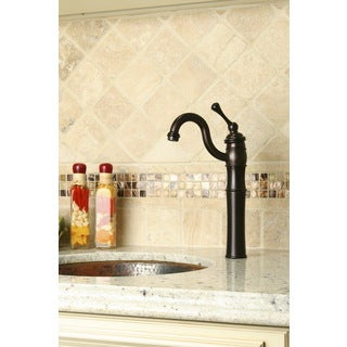 Victorian Oil Rubbed Bronze Vessel Sink Faucet