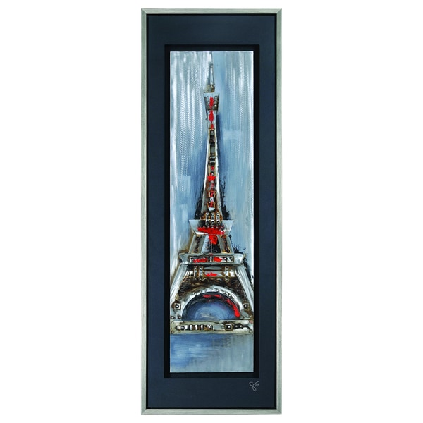 Giovanni Russo 'Paris Illuminated' Wall Decor