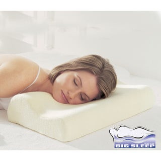 Italian Orthopedic Contour Memory Foam Pillow with Cover