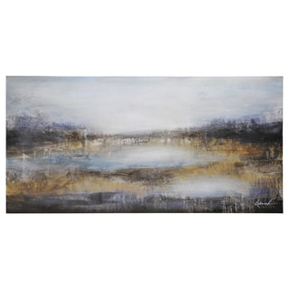 Dominic Lecavalier 'Plum Landscape' Canvas Art