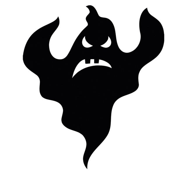 Ghost Vinyl Wall Decal