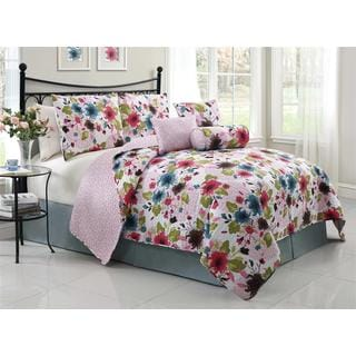 Natalie 6-piece Reversible Quilt Set