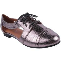 Women's Beston Marty-01 Pewter Faux Leather