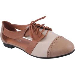 Women's Beston Marty-01 Taupe Faux Leather