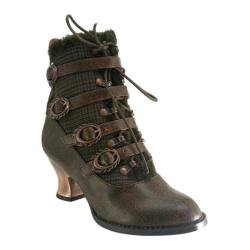 Women's Beston Nephele Brown Matte Leather