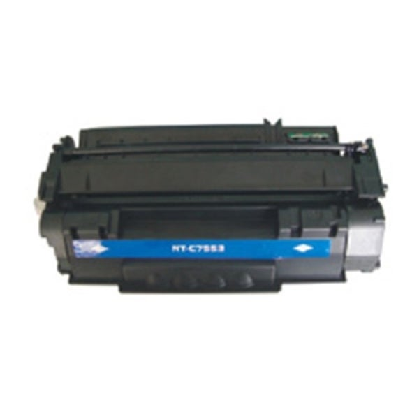 INSTEN Black Toner Cartridge for HP Q7553X 7K,
