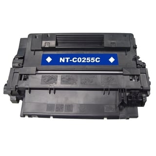 BasAcc Black Toner Cartridge Compatible with HP CE255A 6K,