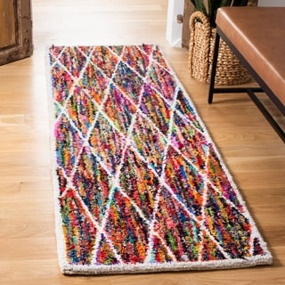 Safavieh Handmade Nantucket Multicolored Cotton Rug (2' x 3')