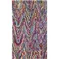 Safavieh Handmade Nantucket Geometric Multicolored Cotton Rug (3' x 5')