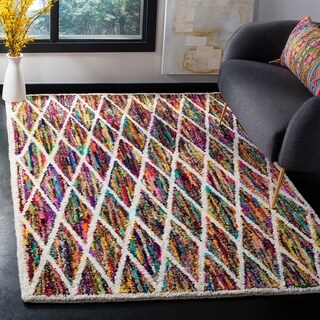 Safavieh Handmade Nantucket Multicolored Cotton Area Rug (6' x 9')
